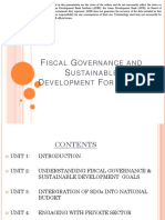 Fiscal Governance and Sustainable Development for Samoa
