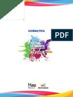 normativa Festival estudiantil artes 2017.pdf
