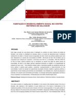 Habitação e Desenvolvimento Social No Centro Histórico de Salvador