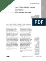 CSH e Saúde Coletiva 1997 a 2017