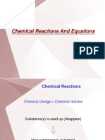 Chemical Equation and Reactions