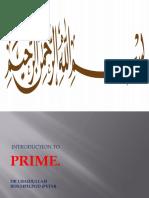 Lecture Prime