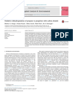 Oxidative Dehydrogenation of Propane to Propylene With Carbon Dioxide Review