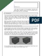 3D Tutorials - Basic Polygon Modelling