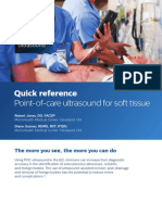 Point of care Ultrasound soft tissue