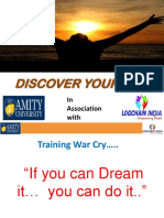 Discover Yourself Ppt