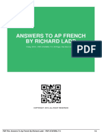 answers to ap french by richard ladd