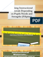 Making Instructional Materials Depending on Pupils Needs And