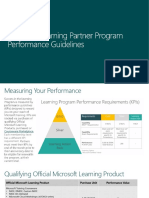 Learning Option Performance Guide