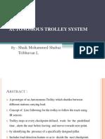 Autonomous Trolley System