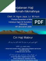 Perjalanan Haji Dan Hikmah-Hikmahnya
