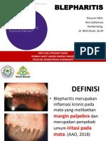 Blepharitis Ilma Dr Widi SpM Copy
