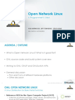 Open network Linux for developers
