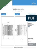 Spec Sheet 6000lt Underground Water Storage Tank 06.17