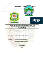 PERMEABILIDAD DE PELICULAS PLASTICAS
