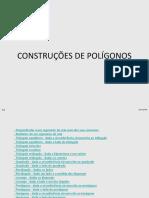 Construções de Polígonos