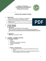 Biochemistry Lesson Plan