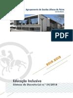 EMAEI Educacao Inclusiva Aplicacao DL542018