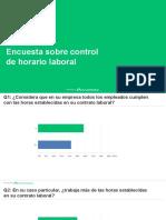Resum de l'Enquesta sobre horaris laborals