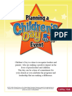 Childrens Day Planning Guide