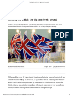 Funding the Deficit - The Big Test for the Pound