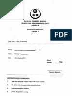P4 English SA2 2013 Nan Hua Test Paper
