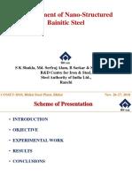 COMET 2018 Presentation -S K Shukla