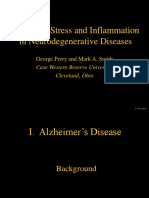 Oxidative Stress and Inflammation in Neurodegenerative Diseases