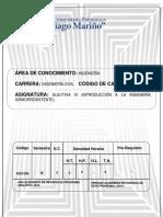 Programa Electiva Vi Ingeniería Sísmica (1)