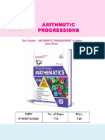 Disha Class10 10-In-1 Mathematics Arithmetic Progressions