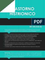 TRASTORNO HISTRIONICO