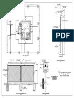 Cerco Perimetrico Reservorio Elevado - Arquitectura 01-A-01