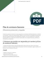 Plan de Asistencia Funeraria – Seguros La Fe