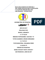 Informe Michell Urdaneta