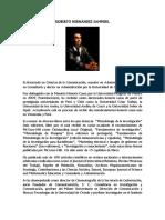 Roberto Sampieri Paulina Mendoza