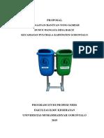 Proposal Tong Sampah
