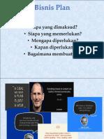 Pak R. Agung, Businnes Plan.ppt