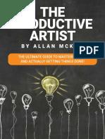 Ebook - The Productive Artist - Allan McKay.pdf