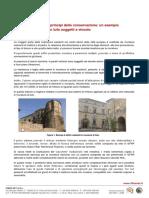 Come Calcolare Il Rinforzo Di Un Edificio in Tufo Con Il Sistema FIBREBUILD INTONACO ARMATO Della FIBRE NET