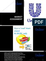 Marketing Assignment for unilever