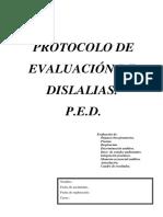 Protocolo Evaluación Dislalia