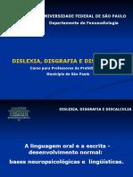 Disgrafia dislexia