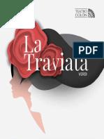 Programa de Mano - La Traviata
