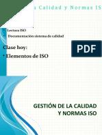 Clase 4 -Elementos ISO