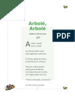 Poesia Arbolé, Arbolé