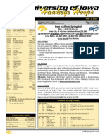 Iowa Basketball Game Notes - Exhibition Week One