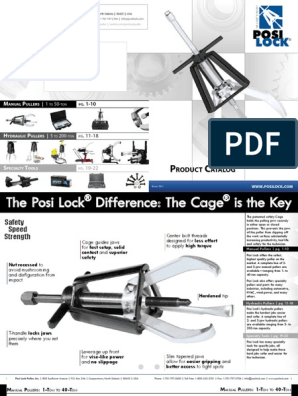 PH-208 and PHS-208 Posi Lock PH-10856 Puller Pin PHS-108 For Use With PH-108