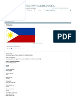 Philippines - Cultural Life _ History - Geography _ Britannica
