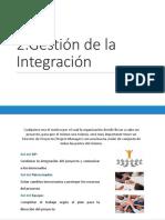 02. Gestión de La Integración