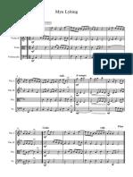 Myn Lyking Strings - Full Score